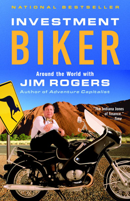 Investment Biker Book Cover